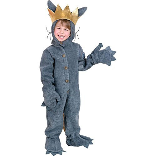 Where The Wild Things Are Costume Child (Toddler Wild Monster Costume, Size 4T)