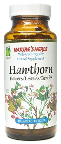 Nature's Herbs Zand Hawthorn Flowers and Berries Capsule, 100 - Leaf Hawthorn Berry
