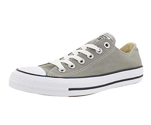 Converse Chuck Taylor All Star Seasonal Canvas Low Top Sneaker, Dark Stucco, 4.5 M US]()