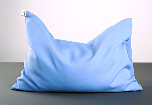Blue Yoga Pillow by MadeHeart | Buy handmade goods