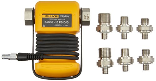 FLUKE-750PV4 Vacuum Pressure Module, 0 to -15 psi
