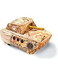 Tank Backpack Suitcase - Camouflage - Kids Luggage For Travel School Vacation