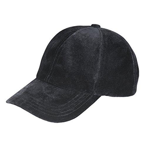 XWDA Plain Adjustable Velvet Baseball Ca - Black Velvet Hat Shopping Results