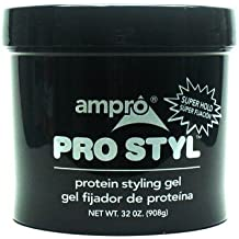 Ampro Pro Styl Protein Styling Gel, Super Hold, 32 oz.