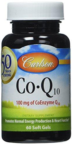 Carlson Labs CO Q 10 100mg Softgels