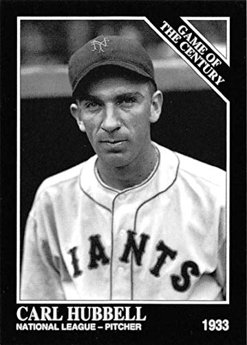 1993 Conlon Collection Baseball #665 Carl Hubbell New York Giants Official MLB Trading Card From The Sporting News (Carl Hubbell Baseball)