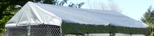 Dog Kennel Cover - WeatherGuard Extra Large All Season Dog R