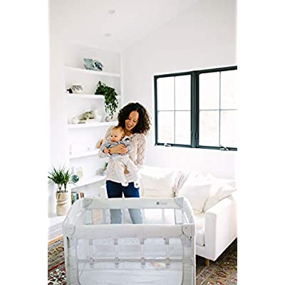 Image of Arm's Reach Concepts Co-Sleeper Bassinet, Ideal 3-in-1, White Baby