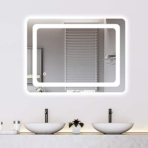 Cozy Castle Bathroom Mirror with LED Lights Lighted Makeup Vanity Mirror Wall - Bathroom Mirrors Vanity Purchase