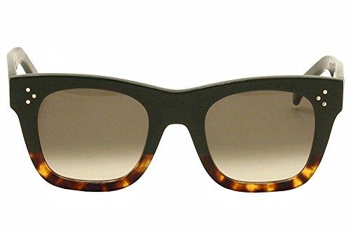 7e7d58b39d508 Celine 41089 S FU5 Black Havana Catherine Small Wayfarer Sunglasses Lens  Catego