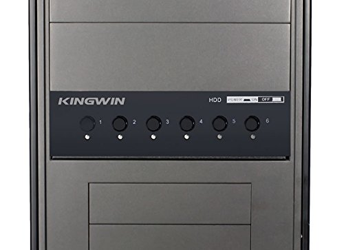 Kingwin Hard Drive Power Switch Module 2.5 inch/3.5 inch SATA HDD/SSD. Optimized SSD, Power On Off HDDs as Wish, Controls up to Six HDDs Provide Longevity to Your Hard Drives by Kingwin (Image #2)