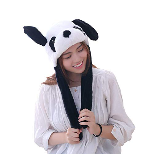 yqtyqs Panda Hat Cap Ears Movable Gift Halloween Party -
