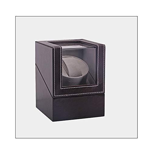 AMhuui Sola bobinadora automática de Reloj mecánico con Motor silencioso, agitador de Motor Reloj Winder Holder EU/US/UK...