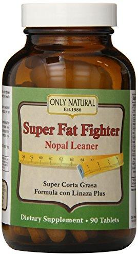 Only Natural Super Fat Fighter (nopal Leaner Formula), 90-Count ()