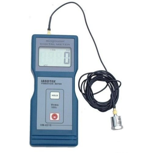 VM6310 Digital Vibration Meter Tester Vibrometer Gauge VM-6310