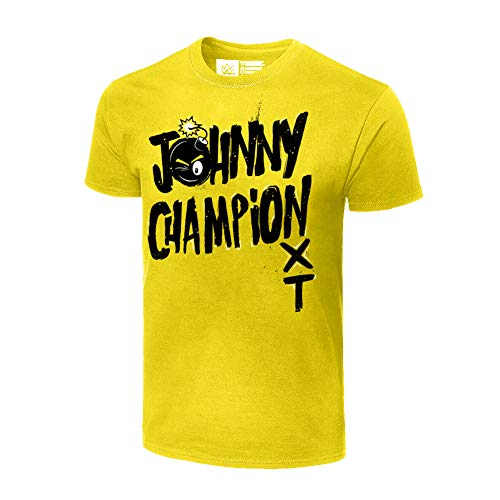 - Johnny Gargano Johnny Champion T-Shirt Black Extra Large