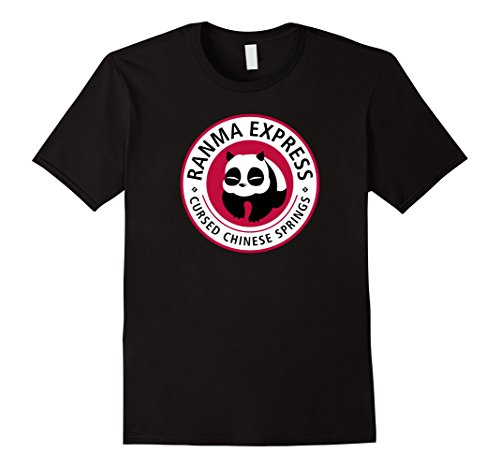 Mens merimeaux: Ranma Express T-shirt Small Black