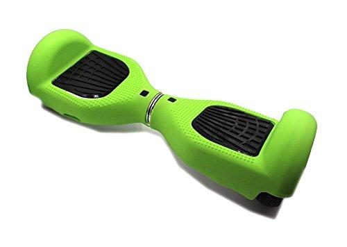 Verde Silicona Protecci/ón ara/ñazos carcasa Funda Piel para 6,5/pulgada Smart Auto Equilibrio Scooter el/éctrico Hover Board