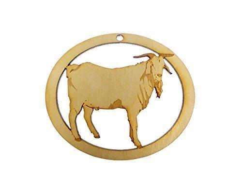 personalized goat ornament goat christmas ornament goat decor farm animal ornament