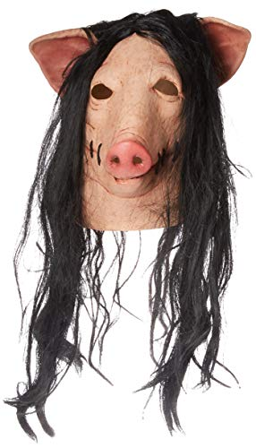 Trick or Treat Studios Men's Saw-Pig Mask, Multi, One Size]()