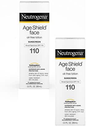 Neutrogena Age Shield Face Lotion SPF 110, 2 Count