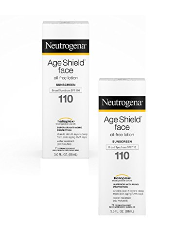 Neutrogena Age Shield Face Lotion SPF 110, 2 (Best Oil Free Sunscreen)