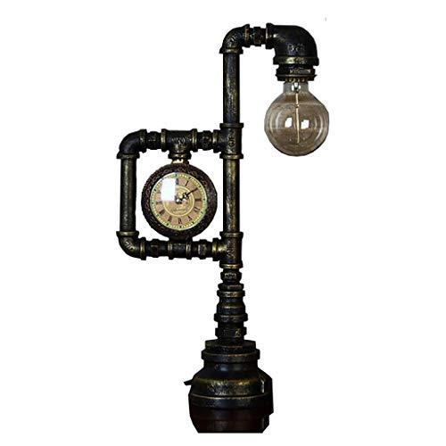 Lámpara Vintage De Pipa De Agua Lámpara De Mesa Industrial Retro ...