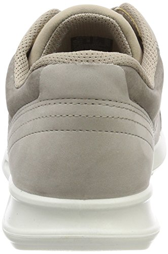 Ecco Ladies Genna Sneaker Gray (moon Rock / Warm Grey)