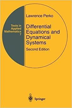 [\ TOP /] Differential Equations And Dynamical Systems (Texts In Applied Mathematics). Contact consulte INDIO gestion Words