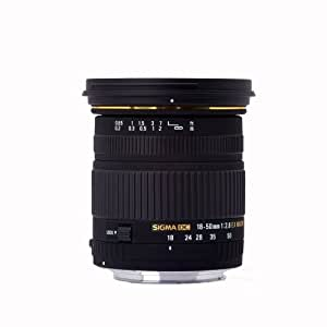 Sigma 18-50mm f/2.8 EX DC SLD ELD Aspherical Macro Lens for Olympus and Panasonic Digital SLR Cameras