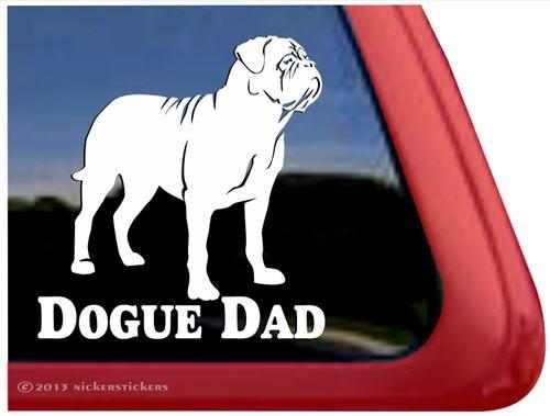 Dogue Dad ~ Dogue de Bordeaux Window - Dogue De Sticker Bordeaux
