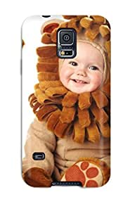Awesome Case Cover/galaxy S5 Defender Case Cover(cute Baby Wear)