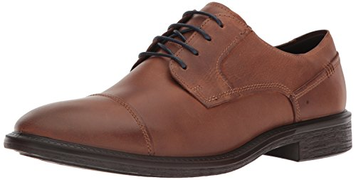 ECCO Men's Knoxville Cap Toe Oxford, Cognac Light, 44 EU/10-10.5 M (Ecco Cap Toe Cap)
