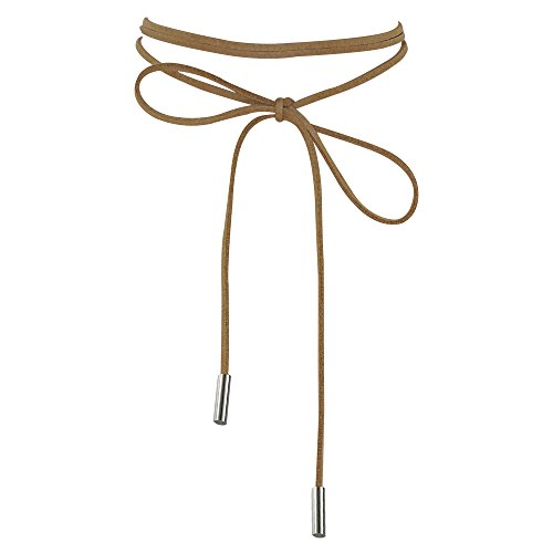 Gothic Velvet Leather Stretch Necklace