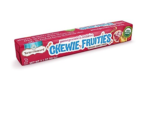 (Torie and Howard Chewie Fruities Stick Pack, Pomegranate and Nectarine, 2.1 Ounce (Pack of)