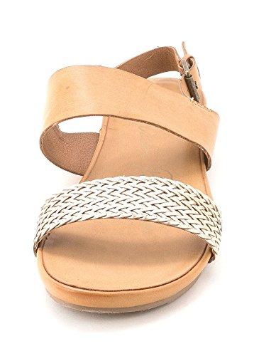 American Rag - Sandalias de vestir para mujer canela
