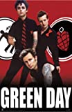 Green Day (Red) - Art Poster (24' x 36')