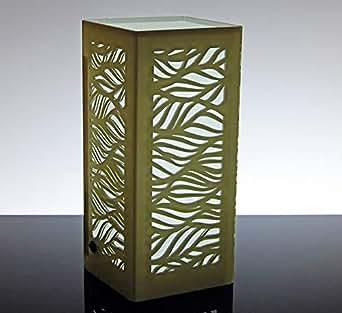 lámpara de mesa LED diseño Moderno de plexiglás Selene ...