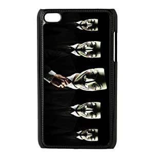 Awesome Mask Cool Black Costume Hard Case Cover for Ipod Touch 4