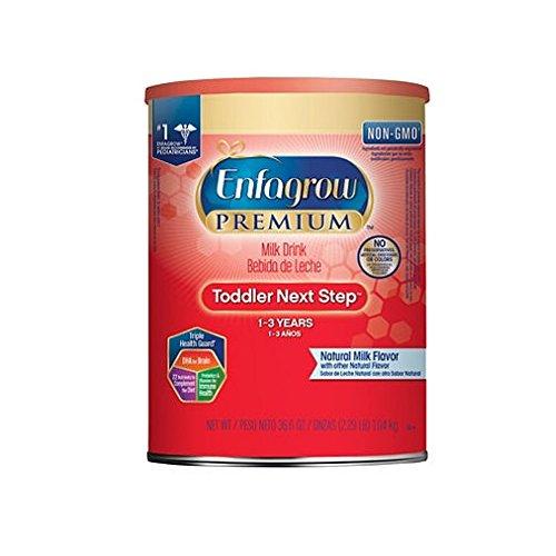Enfagrow Premium Toddler Next Step Milk Drink Powder, Natural Milk Flavor (36.6 oz.)