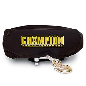 Product of Champion Power Equipment Neoprene Winch Cover Fits 4,000lb - 4,500 lb. - All ATV Accessories [Bulk Savings]