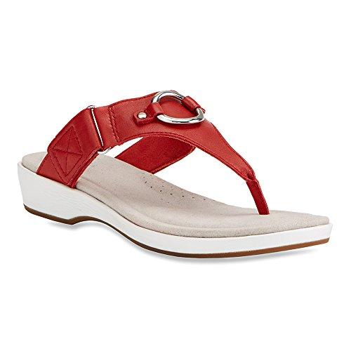 Chili Sandal Thong Red Ariat Poolside qHaTR