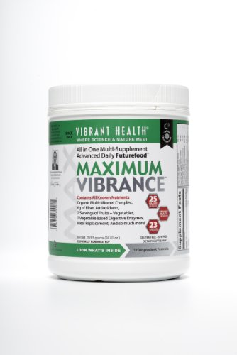 Vibrant Health – Maximum Vibrance – 24.81 oz., Health Care Stuffs