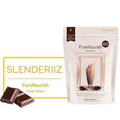 Biosense Clinic Slenderiiz PureNourish PowerBoostCocoa(14.2oz)