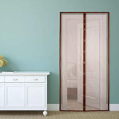 Malla de verano ventana de pantalla de malla anti mosquito puerta mosquitera puerta cerrada puerta de cocina mosquitera verano hogar salud y comodidad A2 W110xH210