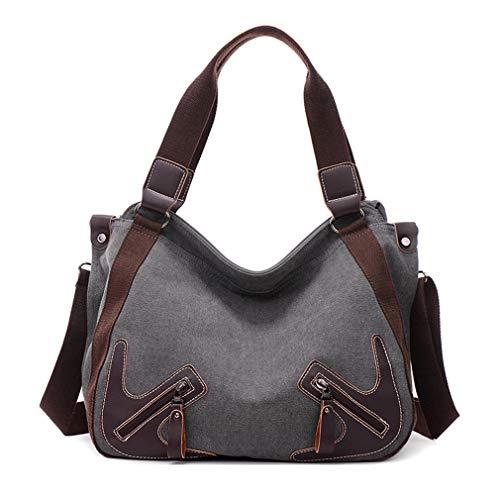 Daily Brown Canvas Women Hobos Bag Ganabag Bag Shoulder Uses Crossbody Bags wdYqqPOx