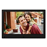 NIX Advance Digital Photo Frame 13 inch Widescreen X13C. Electronic Photo Frame USB SD/SDHC. Clock and Calendar Function. Digital Picture Frame with Motion Sensor. Remote Control Included