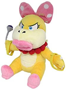 "Little Buddy Super Mario Series Wendy Koopa 7"" Plush by Japan VideoGames"