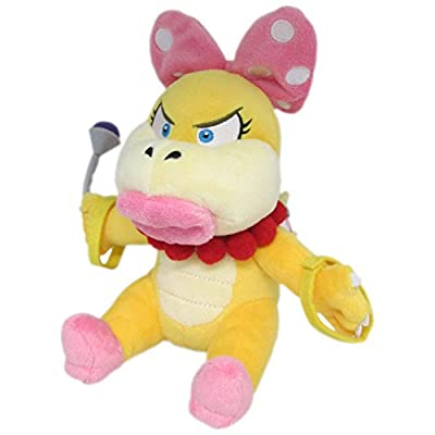 "Little Buddy Super Mario Series Wendy Koopa 7"" Plush: Toys & Games"