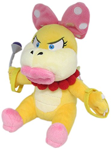 "Little Buddy Super Mario Series Wendy Koopa 7"" Plush"